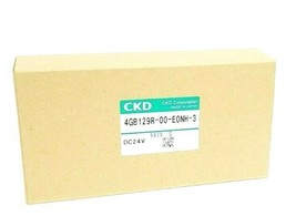 NIB CKD 4GB129R-00-E0NH-3 PILOT CONTROL VALVE DC24V 4GB129R00E0NH3