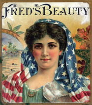 Decor American Poster.Home wall design.Fred's Beauty.Home Wall Art.2010 - $11.30+