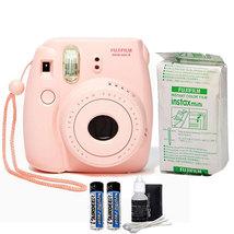Fujifilm Instax Mini 8 Instant Film Camera Pink... - $84.98