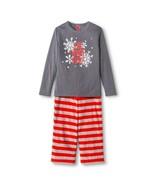 New! Style by Target EV Holiday Kids' 2-Piece Snowflake & Stripe Pajama ... - $14.99