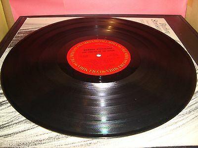 "Barbra Streisand Live Concert At The Forum 12"" Vinyl Record Album KC 31760 VG"
