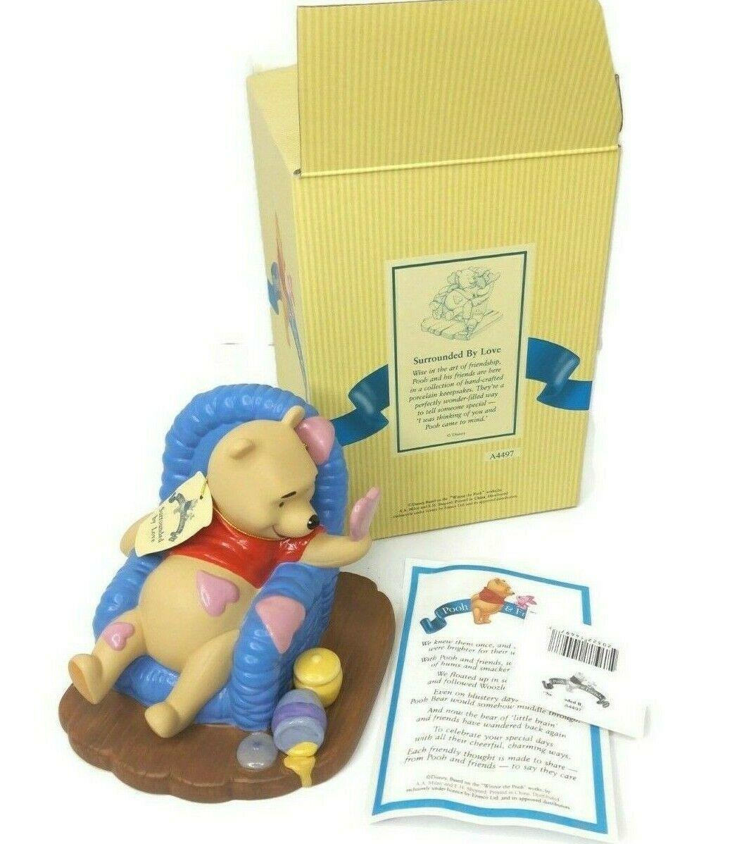 Walt Disney Winnie the Pooh & Friends 'Surrounded By Love' Figure Retired - $49.49
