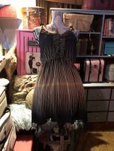 DAYTRIP Sweet Ruffled Striped Dress Size M - $14.85