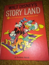 Walt Disney's STORY LAND 1962 Hardcover Book 55 Favorite Stories Children's - $23.70