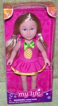"""MY LIFE as BEACH VACATIONER 7.5""""H Small Doll New - $16.88"""