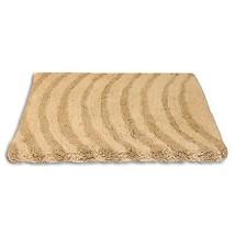 Vagues Beige Bathmat Tapis Doux 100% Cotton 50 X 80cm - 50.8cm X 81.3cm - $18.12