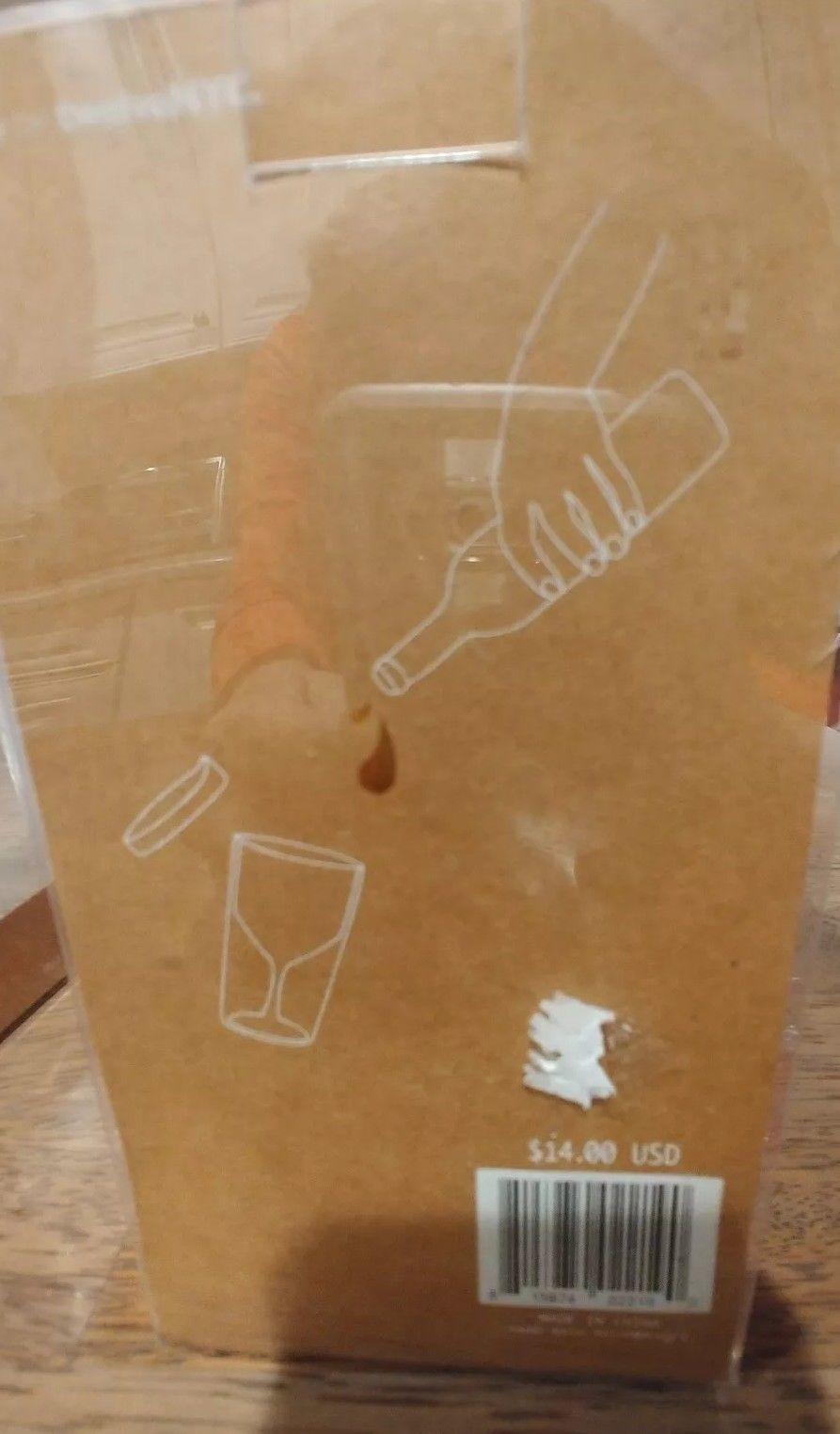 """Santa Says So"" Travel Wine Tumbler Red Plastic Travel Mug"