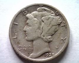1929-S Mercury Dime Very Fine / Extra Fine VF/XF Very Fine /EXTREMELY Fine VF/EF - $12.00