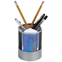 PEN HOLDER-LEDS,CLOCK,CAL,TMP - $22.95