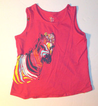 The Childrens Place Toddler Girls Tank Top Shirt Zebra Size 3T VGUC - $7.46