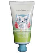 SIMPLE PLEASURES 1.6 oz Squeezy CITRUS SUGAR Blue Owl SCENTED HAND CREAM... - $2.99