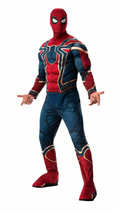 Rubini Infinity Guerra Avengers Lusso Ferro Spider Man Costume Halloween... - £34.72 GBP