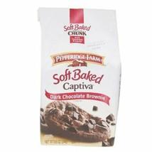 Pepperidge Farm Soft Baked Cookies, Captiva Dark Chocolate Brownie, 8.6-ounce - $37.61