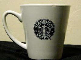 Starbucks Collectible Coffee Mug 2007 10 oz. White Green Star bucks Logo - $15.00