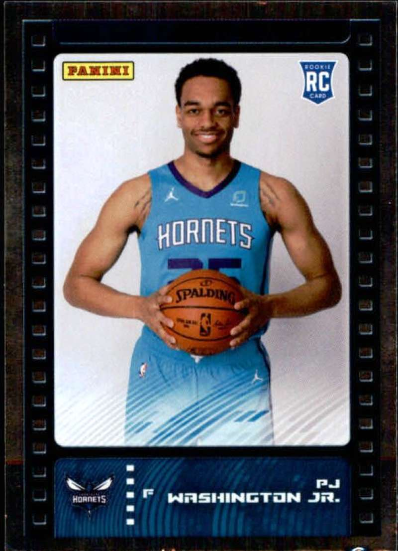 Primary image for 2019-20 Panini NBA Sticker Box Standard Size Silver Foil Insert #90 PJ Washingto
