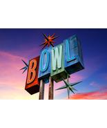 Retro Bowling Neon Sign, Fine Art Photography, ... - $40.00 - $442.00