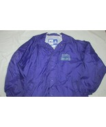 Charlotte Hornets windbreaker jacket lined Men's XL purple  LOGO 7  NBA - $44.54