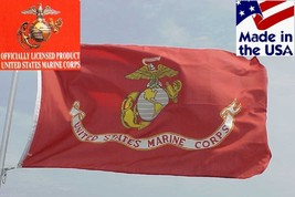 4x6 ft USA MADE OFFICIAL USMC US Marine Corps MARINES EGA Indoor/Outdoor... - $20.99