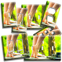 Bare Feet Soles Sexy Legs Light Switch Outlet Plate Bathroom Room Home Art Decor - $9.99+