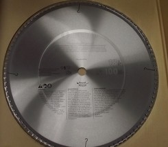 "Bosch PRO18100FIN 18"" x 100 Carbide Tooth Finishing Saw Blade Japan - $89.10"