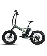 "500W Electric Foldable Bicycle All Terrain 36V 10AH Battery 26"" Tires  - $1,631.13 CAD"