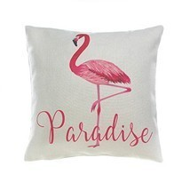 Smart Living Flamingo Paradise Decorative Throw Pillow - $21.89