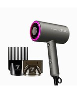 Tyche Chic Hair Dryer Cold Shot Ceramic Grills w/ 2 Styling Attachments ... - $31.63