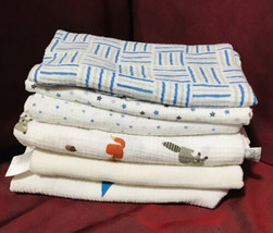 Aden + Anais Mixed Lot/6 Baby Cotton Muslin Swaddling Blankets - $39.60
