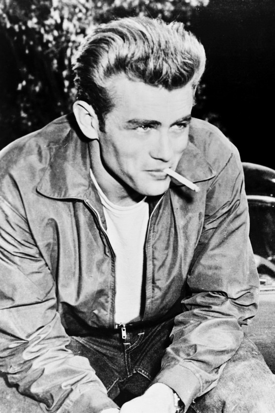 Primary image for James Dean Rebel Without A Cause smoking cigarette 18x24 Poster
