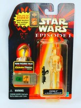 Star Wars Episode 1 OOM-9 New Sealed CommTech Chip Collection 3 Talking ... - $22.43