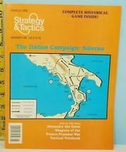 S&T #150 The Italian Campaign Salerno Decicion Games 1992 Unpunched NOS - $24.75