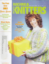 Machine Knitters Source May Jun 2000 Magazine Faux Chenille Sweaters - $4.27