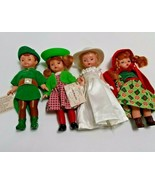 Madame Alexander McDonald's 5 Inch Dolls Lot Of 4 - $24.72