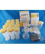Medela Pump in Style Advanced Double Pumping Kit & Breastmilk Freezing &... - $10.88