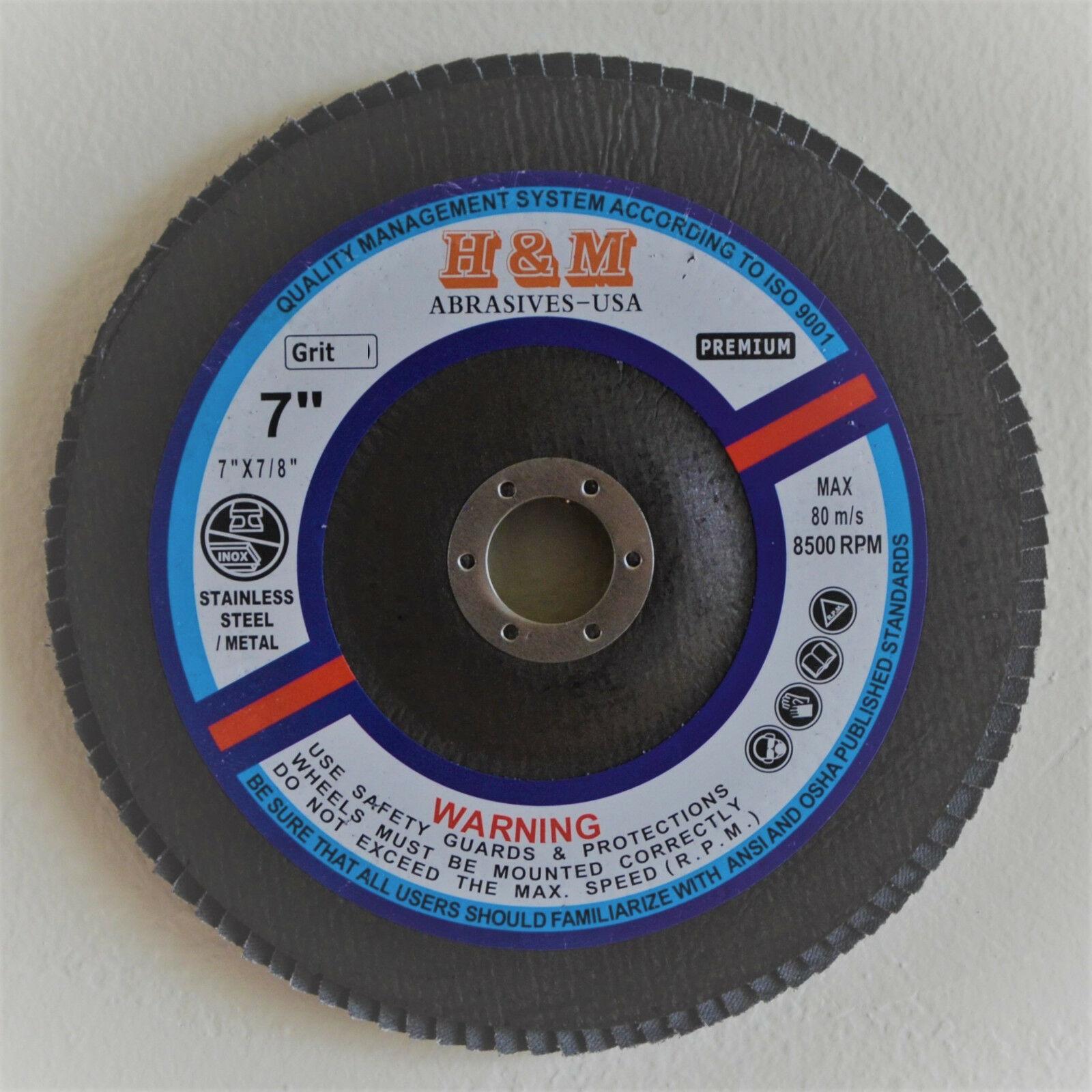 """50 3/""""x 1/""""x1//4/"""" Premium Flap Wheels Aluminum Oxide Sanding Disc 60 Grit"""