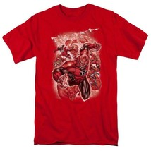 Green Lantern Red Lantern Corps Comics Supervillains red graphic t-shirt DCR113 image 1