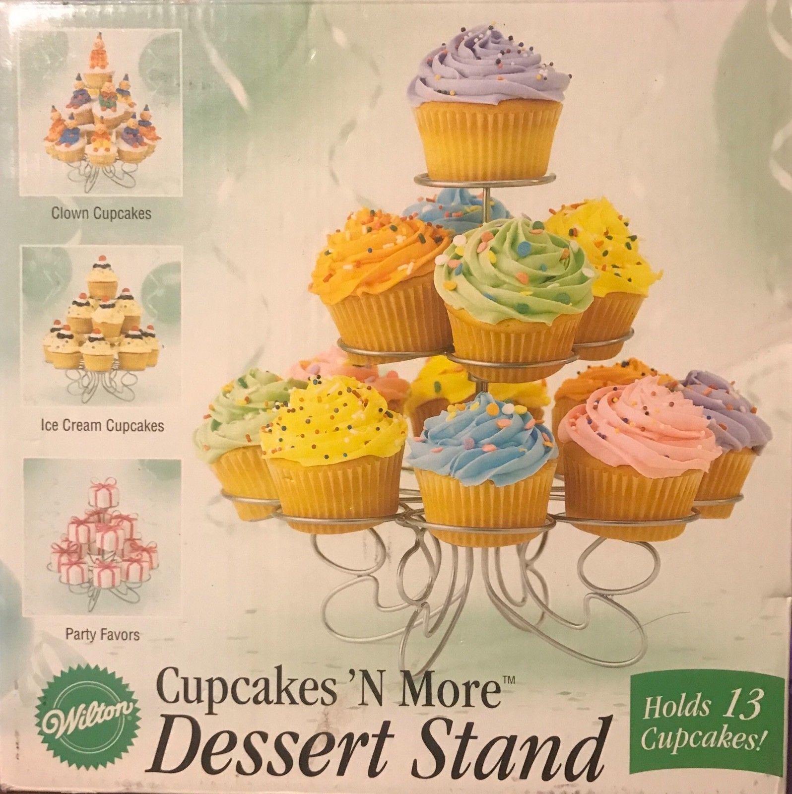 Wilton Cupcake Treat Stand 307-2506 Wedding and 26 similar items