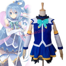 KonoSuba God's blessing on this wonderful world Aqua Cosplay Costume - $45.99