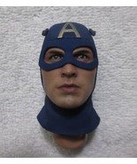Captain America Head Sculpt 1/6th Scale Star Spangled Man MMS 205 - Hot ... - $43.54