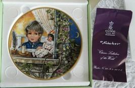 Kaiser Classic Lullabies of the World AU CLAIR DE LA LUNE Collector Plat... - $7.99