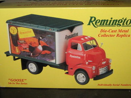 """First Gear '52 Gmc Dry Goods Van With """"Goose"""" Remington Ad -FREE Shipping - $35.00"""