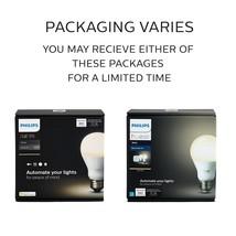 Philips Hue White 2 A19 60W Equivalent Smart Bulb Starter Kit   - $79.99