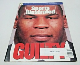 Sports Illustrated Magazine February 17, 1992 GUILTY Mike Tyson Cover - $6.81