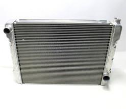 "EVANS NPG RADIATOR Aluminum Racing Single Pass 27.5"" X 19"" GM Chevy In /... - $129.99"