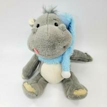 "10"" Hippo Singing Giggling Plush Christmas Sound N Light Animatronics To... - $24.99"