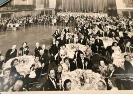 LARGE 1948 PHOTO INTERNATIONAL PAPER COMPANY DINNER WALDORF ASTORIA NYC ... - $25.73