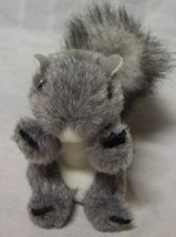 """Folkmanis Cute Little Grey Squirrle Finger Puppet 4"""" Plush Stuffed Animal Toy - $14.85"""