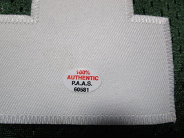 BRETT FAVRE / HALL OF FAME / AUTOGRAPHED GREEN BAY PACKERS THROWBACK JERSEY COA image 7