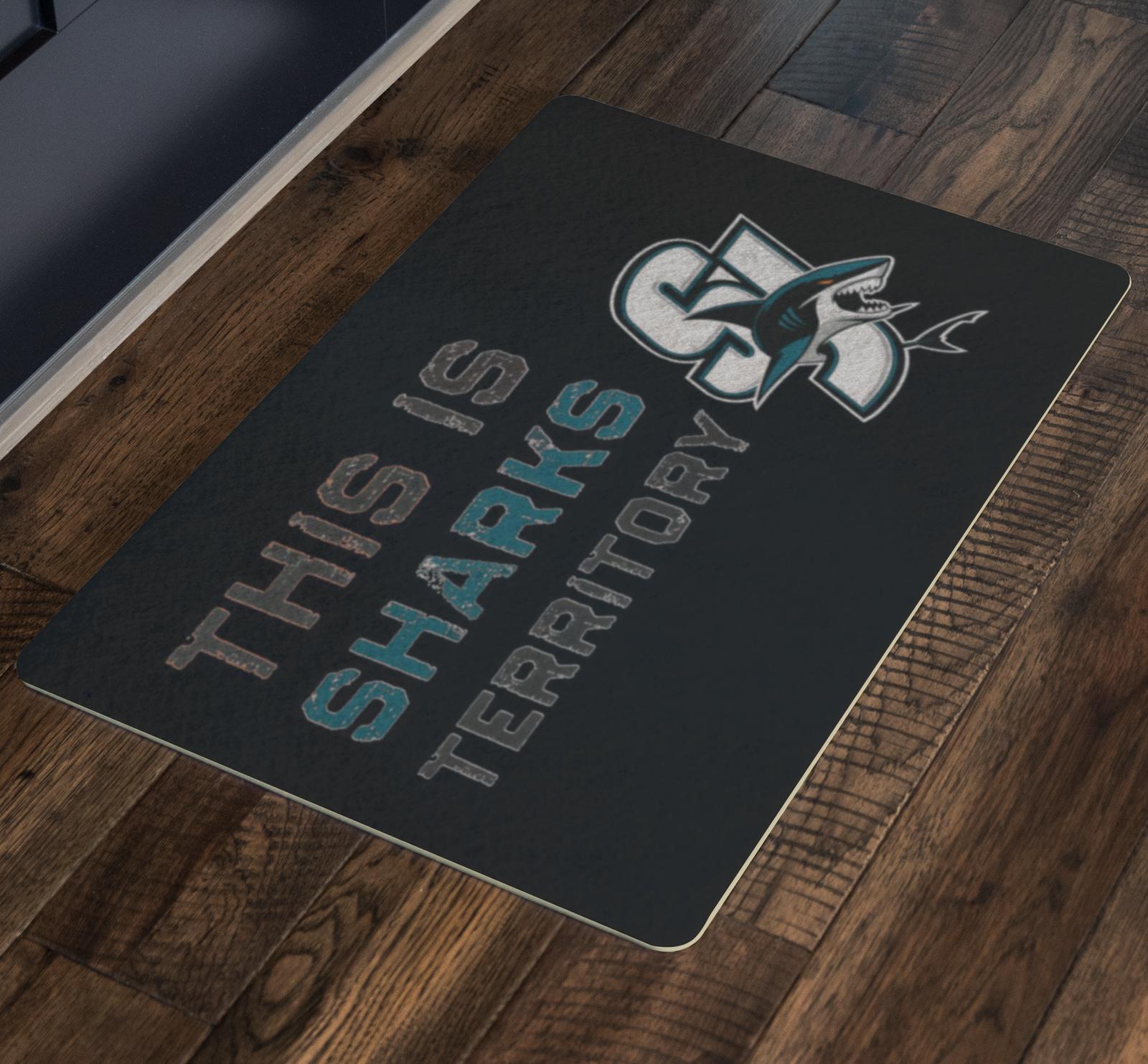 Sharks black mat 1