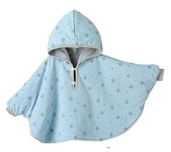 Baby Clothing Baby Cloak Shawl Thick Blankets BLUE Double-Sided Cloak